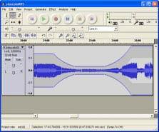 Audacity hangszerkesztő program