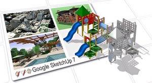 Google SketchUp - modellező